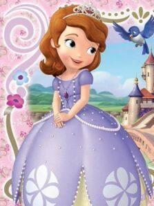 小公主苏菲亚 英文版