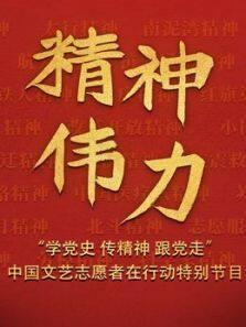 《精神伟力学党史 传精神 跟党走中国文艺志愿者在行动特别节目》